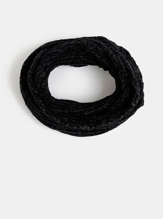 Černá dámská dutá šála Haily´s Nika