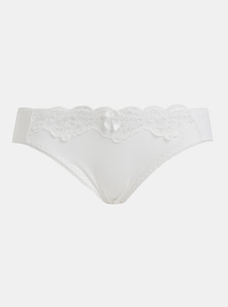 Bílé kalhotky s krajkou Haily´s Mia