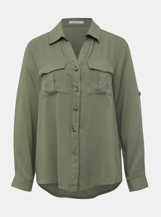 Khaki dámská košile Haily´s Wilma