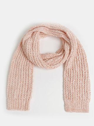Růžová dámská šála Haily´s Bellina