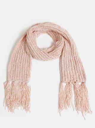 Růžová dámská šála Haily´s Karlotta