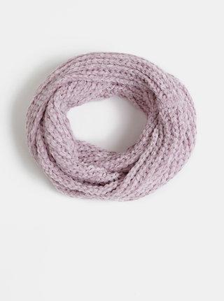 Světle fialová dámská dutá šála Haily´s Sally