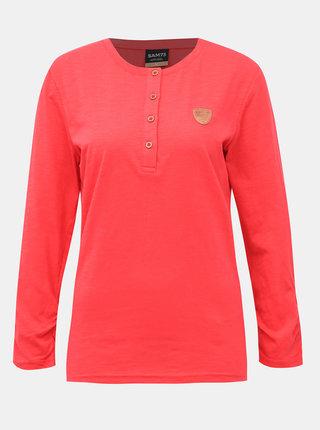 Růzové dámské tričko SAM 73