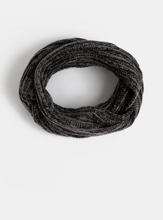 Šedý dámsky dutý šál Haily´s Nika