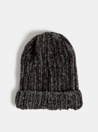 Tmavošedá dámska čapica Haily´s Simona