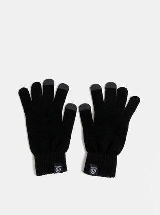 Čierne dámske rukavice Meatfly Boyd