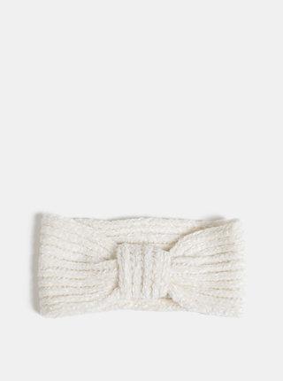Krémová dámská čelenka Haily´s Madison