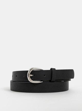 Černý kožený pásek Haily´s Jessica