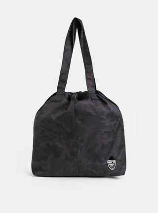 Tmavošedá dámska vzorovaná taška SAM 74
