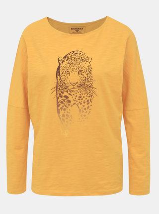 Žlté dámske tričko BUSHMAN Totowa