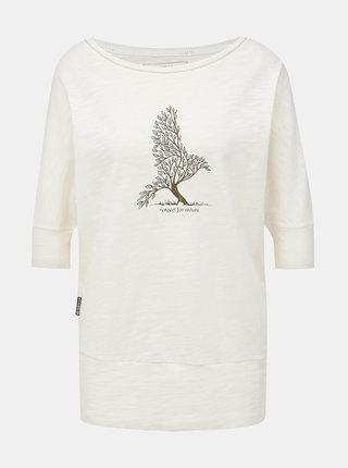 Biele dámske tričko BUSHMAN Floridana