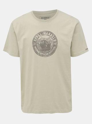 Světle zelené pánské tričko BUSHMAN Hanover