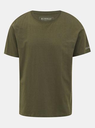 Tmavě zelené pánské tričko BUSHMAN Arvin