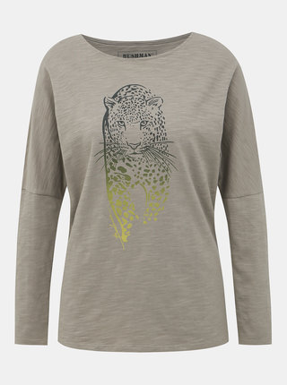 Béžové dámske tričko BUSHMAN Totowa
