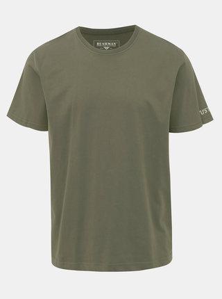 Zelené pánské tričko BUSHMAN Arvin