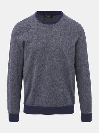 Tmavě modrý svetr Selected Homme Braden