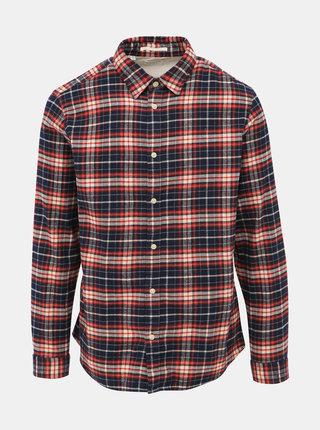 Modro-červená kostkovaná košile Selected Homme Regjaxx