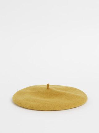 Hořčicový vlněný baret Tom Joule Wilsford