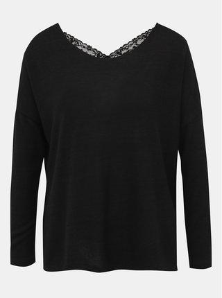 Čierny dámsky ľahký sveter Haily´s Tamara