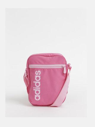 Růžová dámská crossbody kabelka adidas CORE Lin Core