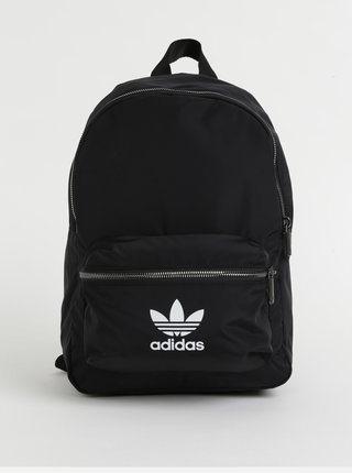 Černý batoh s potiskem adidas Originals