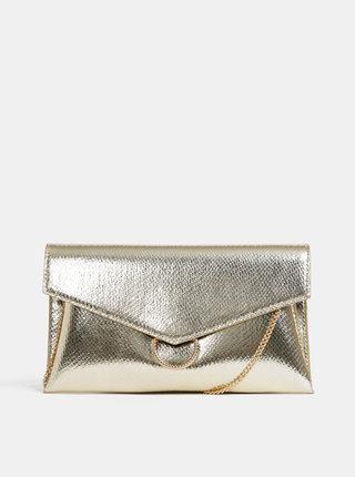Listová kabelka v zlatej farbe Dorothy Perkins