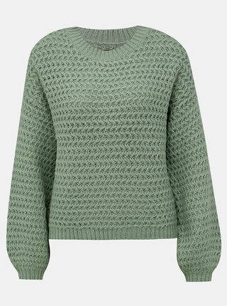 Světle zelený svetr VERO MODA Datte