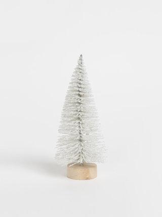 Bílá vánoční dekorace ve tvaru stromu Sass & Belle