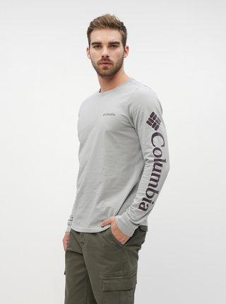 Šedé pánské tričko Columbia