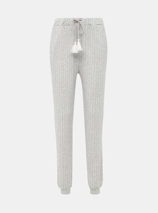 Šedé pyžamové kalhoty Dorothy Perkins