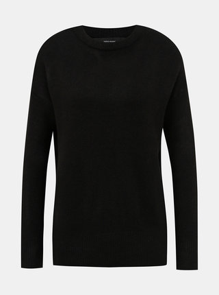 Čierny basic sveter VERO MODA Mure