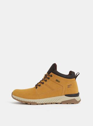 Světle hnědé pánské kotníkové boty s.Oliver