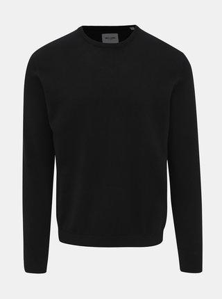 Čierny basic sveter ONLY & SONS Alex