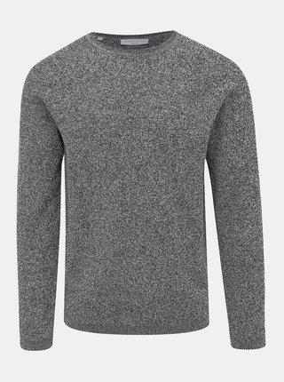 Šedý basic sveter Selected Homme Shane