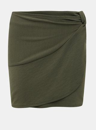 Kaki sukňa ONLY Helga
