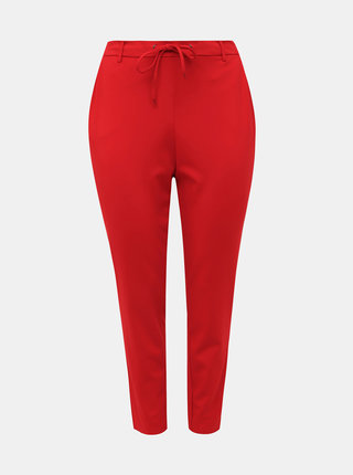 Červené kalhoty Zizzi Addison