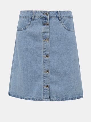 Modrá rifľová sukňa ONLY Farrah