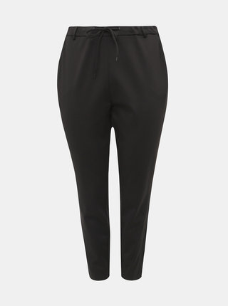Čierne nohavice s pásom Zizzi Addison