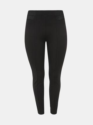 Čierne nohavice Zizzi Limone