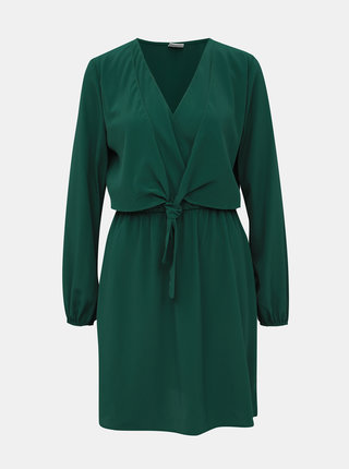 Tmavozelené šaty Jacqueline de Yong Pita