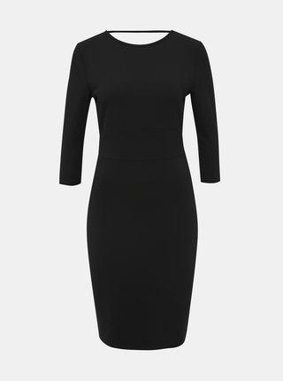 Čierne púzdrové šaty Jacqueline de Yong Lauren