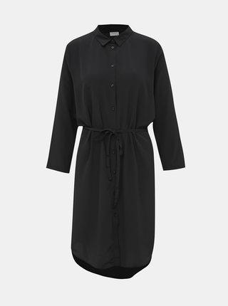 Černé košilové šaty Jacqueline de Yong Pax