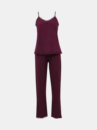 Fialové dvojdielne pyžamo Dorothy Perkins