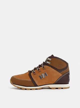 Hnedé pánske semišové členkové topánky HELLY HANSEN Koppervik