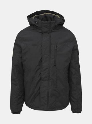 Tmavě šedá zimní voděodpudivá bunda Jack & Jones Kool