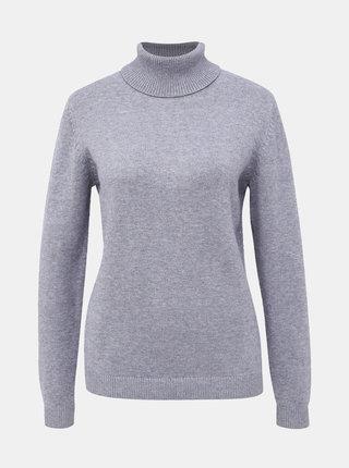 Šedý basic sveter Jacqueline de Yong Marco