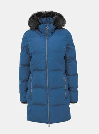 Modrý dámský prošívaný voděodolný zimní kabát killtec Callena