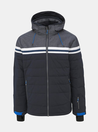 Tmavomodrá pánska vodeodolná zimná bunda killtec Vigru
