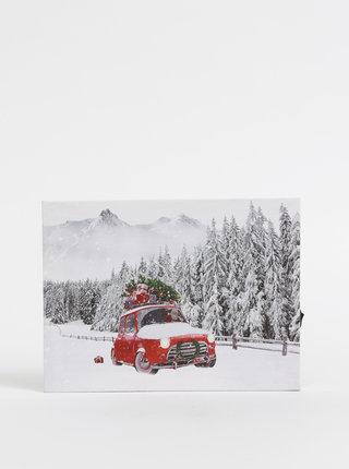 Svítící nástěnný obrázek s vánočním motivem Dakls