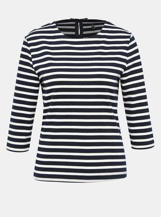 Modro-bílé pruhované tričko ONLY Amanda